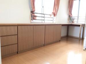 オーダー 家具 神戸 大阪 リビング 収納 デスク