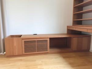 オーダー 造作 家具 大阪 神戸 テレビボード デスク 本棚 リビング 収納