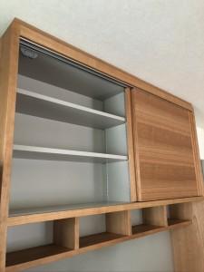 オーダー 造作 家具 大阪 神戸 キッチン 収納 食器棚 カップボード カウンター