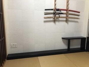 オーダー 造作 家具 和室 置き床 大阪 神戸