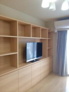 オーダー 家具 大阪 神戸 リビングボード テレビボード 収納