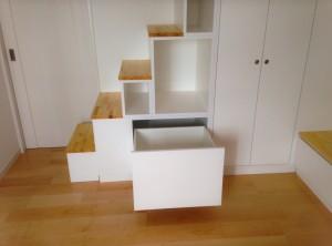 オーダー家具 家具工房アートワークス 神戸 大阪 リビング 収納