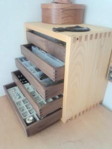 木製レターケース