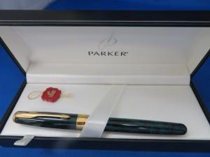 本日はパーカーの万年筆をお買取りさせて頂きました。