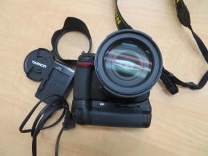 NIKON D300 カメラ レンズTAMRON18-270mmのお買取りをさせて頂きました。