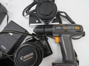 フイルムカメラ・工具ドリル お買取りなら買取専門店大吉尼崎店にお任せ下さい。