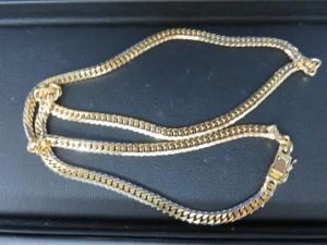 貴金属・18金のネックレスをお買取させて頂きました。