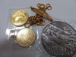 金貨・メダル・K18アクセサリーをお買取りさせて頂きました。