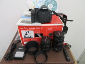 本日はCanonのデジタル一眼レフカメラをお買取りさせて頂きました。