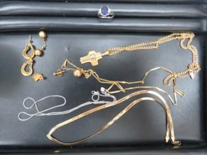 貴金属のリング・ネックレス・ピアスをお買取りさせて頂きました。