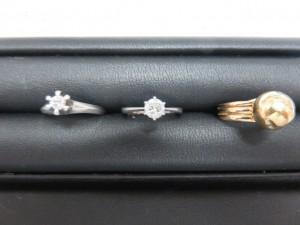 本日は貴金属ダイヤモンド・18金リングをお買取りさせて頂きました。