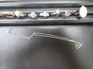 本日はプラチナ・18金のリング、ネックレスをお買取りさせて頂きました。