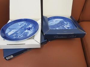 ブランド食器 ロイヤルコペンハーゲンの絵皿をお買取りさせて頂きました。