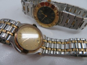 BVLGAR ・GUCCIのレディース腕時計をお買取りさせて頂きました。