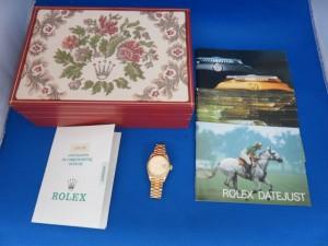 本日はROLEX・ロレックスをお買取させて頂きました。