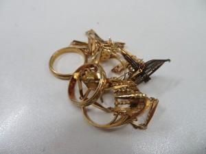 K18 リング・ネックレス 貴金属アクセサリーをお買取りさせて頂きました。