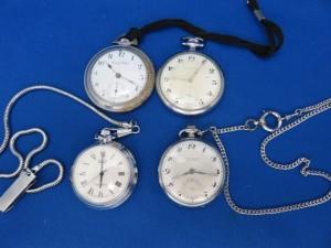 懐中時計をお買取りさせて頂きました。
