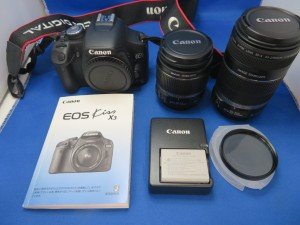 本日はCanonデジカメEOSをお買取りさせて頂きました。