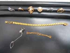 貴金属ネックレス・リングをお買取りさせて頂きました。