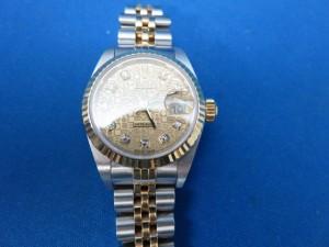 高級時計ローレックスのレディス時計をお買取りさせて頂きました。