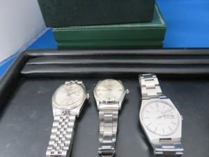 ローレックス・オメガ紳士腕時計をお買取りさせて頂きました。