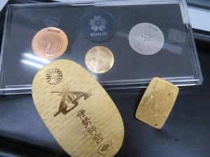 金貨・銀貨・金メダル・小判 貴金属をお買取りさせて頂きました。