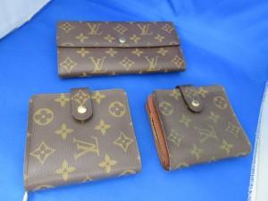 ブランド・ルイヴィトンの財布をお買取させて頂きました。