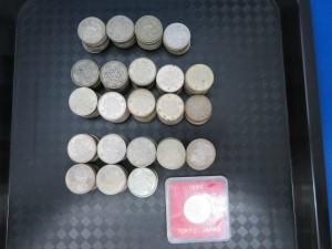 東京オリンピック記念・鳳凰・稲穂の100円銀貨のお買取りをさせて頂きます。