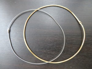 本日も貴金属18金のネックレスをお持ち頂きました。