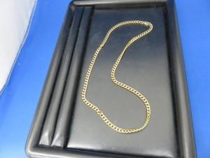 今日はK18ネックレスをお持ち頂きました。