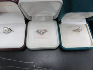 ダイヤモンド・プラチナリングをお買取りさせて頂きました。
