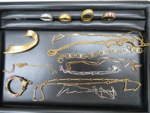 貴金属 金・プラチナアクセサリーをお買取りさせて頂きました。