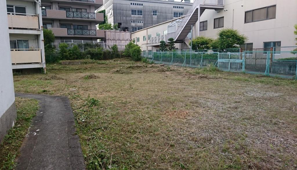 寮の草刈り③