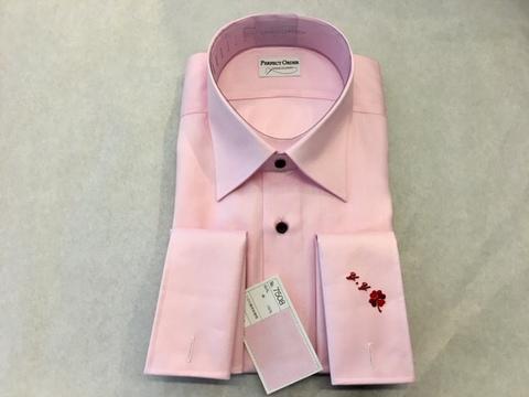 ピンクオーダーシャツ大阪梅田