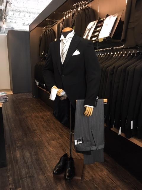 結婚式父親の装いモーニングコート販売大阪
