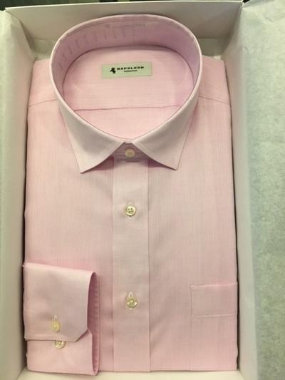 ピンク系オーダーシャツ大阪