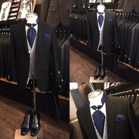 結婚式ゲスト男性の装い 大阪