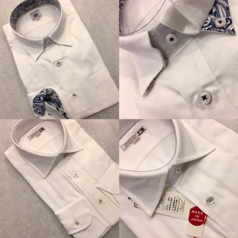 日本製メンズドレスシャツ大阪梅田