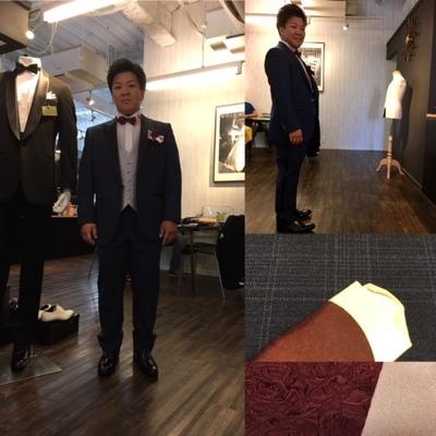 リゾート婚#新郎オーダータキシード・#オーダーベスト大阪