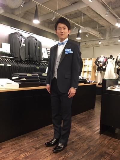 オーダー新郎衣装セット販売はレンタルよりお得です大阪梅田