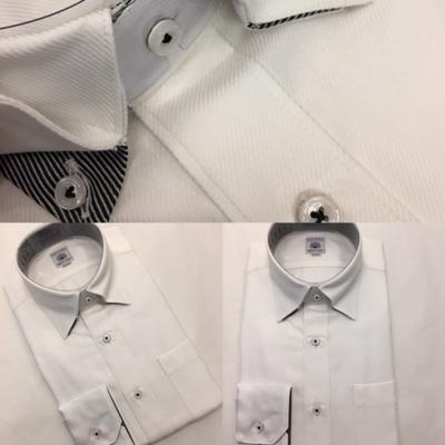 白ドレスシャツ大阪梅田
