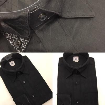 黒ドレスシャツ大阪梅田