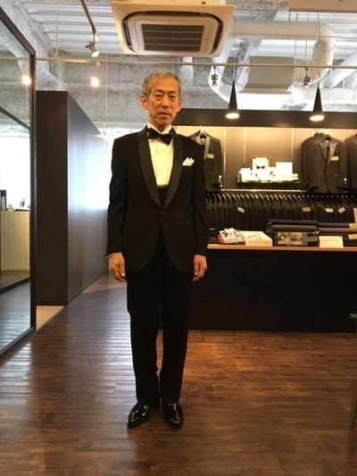 #クルージングでは正装の#タキシードの日が有ります大阪梅田