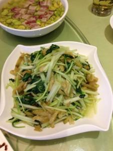 青梗菜ザーサイ炒め