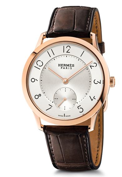 new style 427e2 12571 エルメスの新作腕時計 スリム・ドゥ・エルメス | エルメス ...