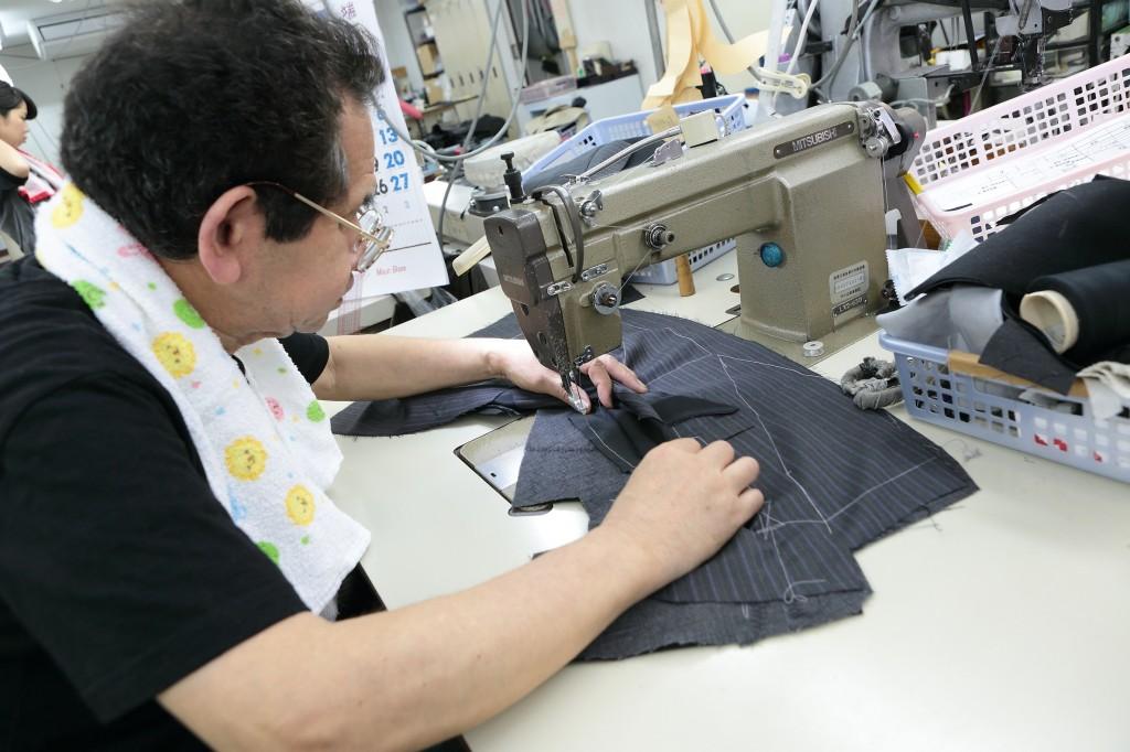 佐々田さん ウラマヨ NFL 縫製職人