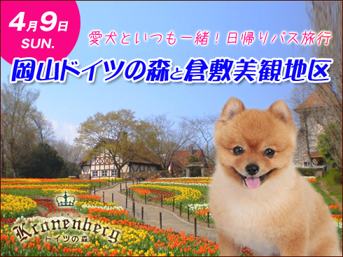 愛犬と行くバスツアー2017