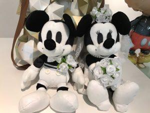 大好きなミッキー&ミニーと一緒の結婚式♪