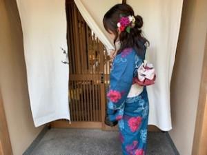 京都で着物をレンタルし散策
