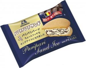 森永製菓のパリパリバーがパリパリサンドになって新登場
